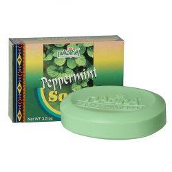 Peppermint Soap 3.5oz Item No S0031