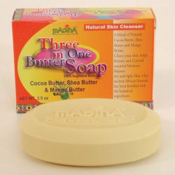 Three In One Butter Soap 3.5oz Item No S0022