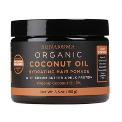 Sunaroma Organic Coconut Oil Hair Pomade