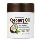 Spa Naturals Coconut Oil Moisturizing Creams, 6-oz. Tubs1