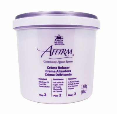 Affirm Conditioning Creme Relaxer Resistant 4 lb