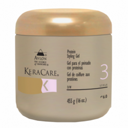 Avlon KeraCare Protein Styling Gel 16 oz Clear