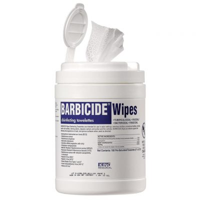 Barbicide Wipes 160ct