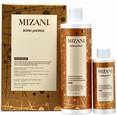 Mizani Bond pHorce In-Salon Kit 2 Pieces