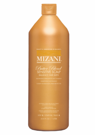 Mizani Butter Blend Balance Hair Bath Neutralizing Shampoo 33.8 oz