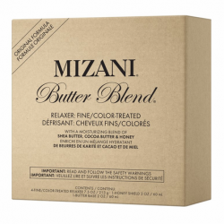 Mizani Butter Blend Fine/Color Treated Hair Relaxer Kit