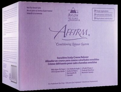 Affirm Sensitive Scalp Creme Relaxer -20-Pack