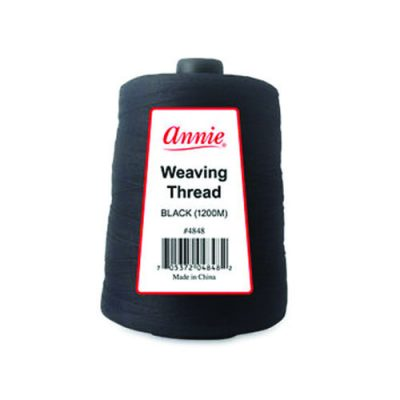 Annie 4848 Weaving Thread Black
