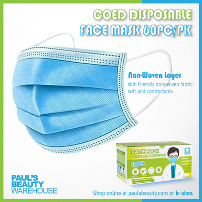 Coed Disposable Face Mask 60Pc/Pk