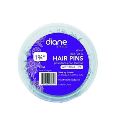 Diane 467 Hair Pin Blk 300Pk