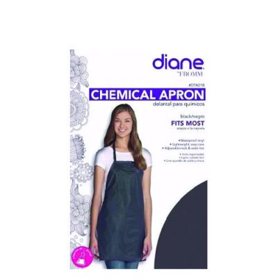 Diane Chemical Apron Blk