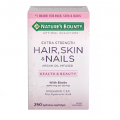 Nature's Bounty Hair, Skin and Nails Extra Strength Vitamins, 250 ct. - 1