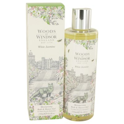White Jasmine Perfume By Woods Of Windsor Shower Gel