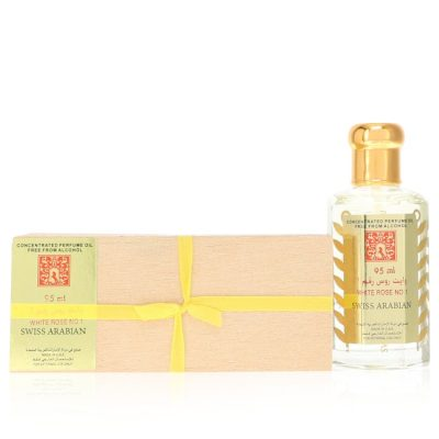 White Rose No 1 Perfume By Swiss Arabian Concentrated Perfume Oil Free From Alcohol (Unisex)