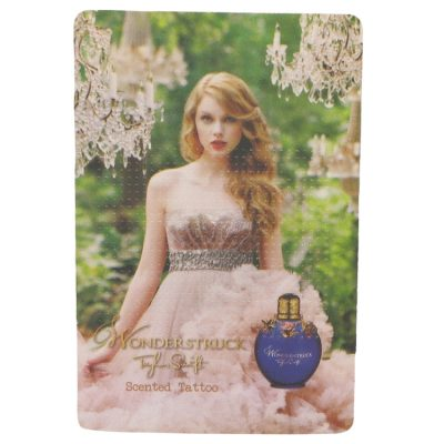 Wonderstruck Perfume By Taylor Swift Scented Tattoo