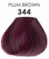 Adore Plus Semi Permanent Hair Color 344 Plum Brown 3.4 oz