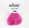 Adore Semi-Permanent Hair Color 140 Neon Pink 4 oz